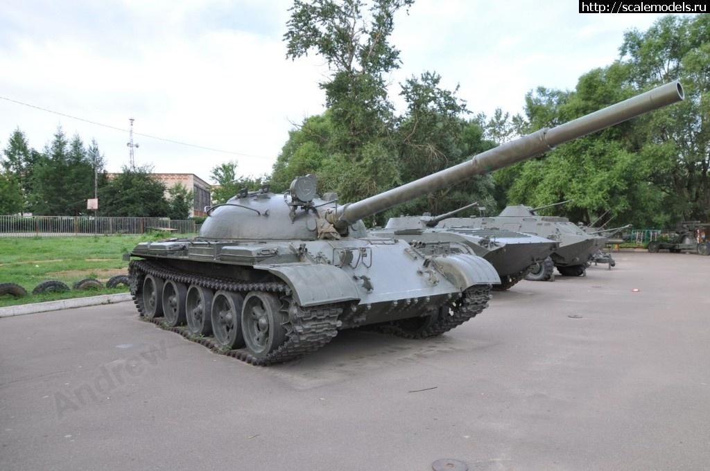 Walkaround средний танк Т-62, Музей истории и краеведения, Малоярославец, Калужская область, Россия Закрыть окно