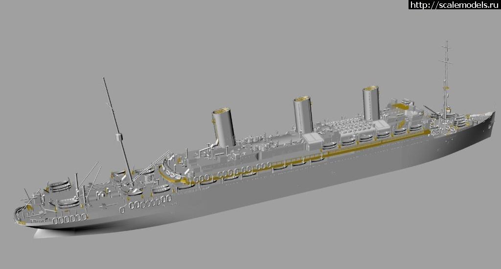 Анонс Комбриг 1/700 лайнер SS Leviat...(#13645) - обсуждение Закрыть окно