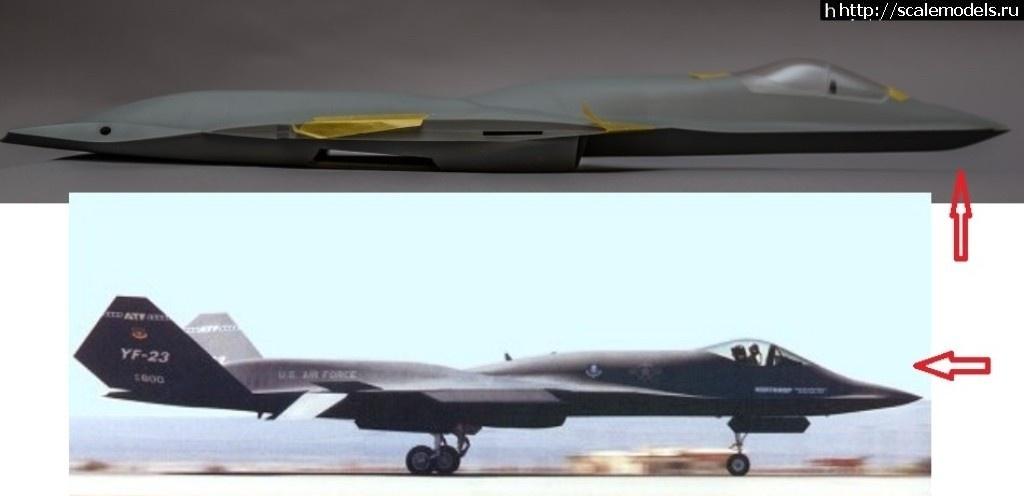 #1545648/ YF-23 Black Widow II от HobbyBoss 1/48 Закрыть окно