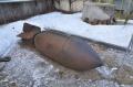 Walkaround авиационная  осколочная бомба SD 1000, Историко-художественный музей, Серпухов, Россия