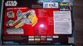 Мини-обзор Revell Star Wars Anakins Jedi Starfighter