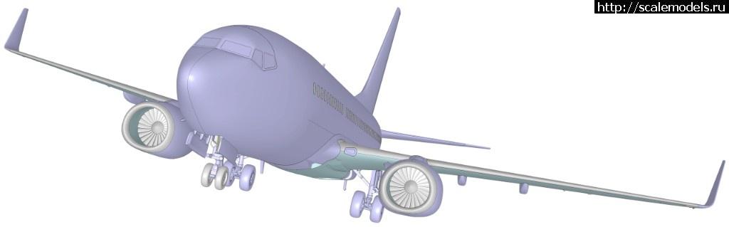 Анонс Звезда 1/144 Boeing 737-700 - 3D-рендеры Закрыть окно