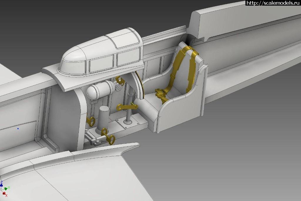 Анонс SBS Model 1/72 Caudron C.450 - тестовая сборка и рендеры Закрыть окно
