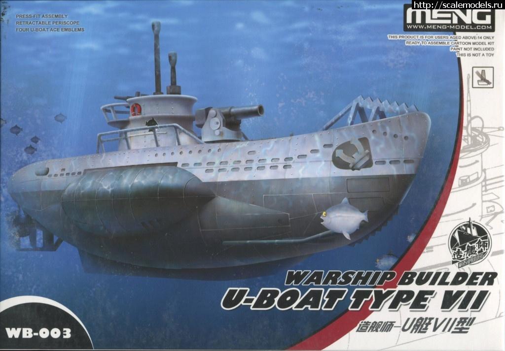 Новинка Meng Egg-Ship: Warship Build...(#13832) - обсуждение Закрыть окно