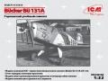 ICM 1/32 Bucker Bu252; 131A, Германский учебный самолет (рендеры)