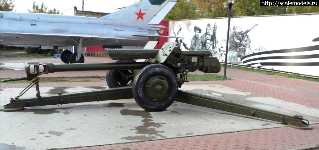Walkaround 122-мм гаубица Д-30 (2А18), Бор, Нижегородская область, Россия Закрыть окно