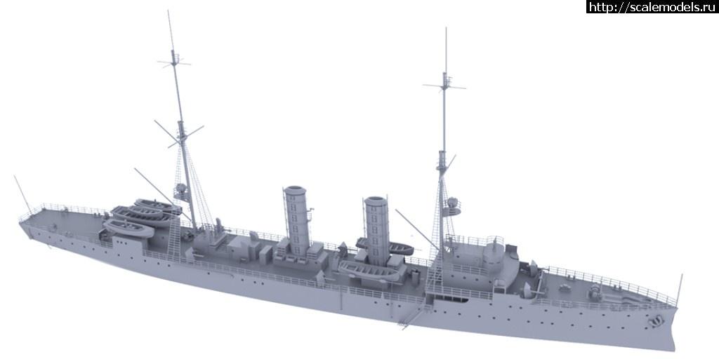 Анонс Комбриг 1/700 немецкий минный крейсер SMS Albatros Закрыть окно
