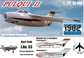 1982 Models 1/72 IAe.33 Pulqui II
