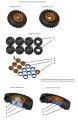 Обзор Amberit 1/72 Омскшина М-93 на ЗИЛ-131