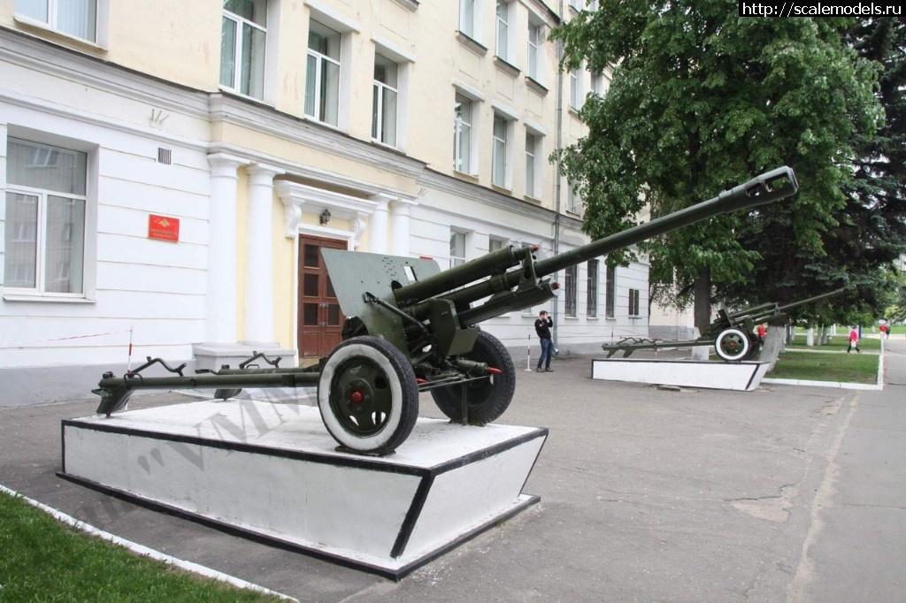 Walkaround 76-мм дивизионная пушка обр.1942 г. ЗиС-3, Тверское Суворовское военное училище, Тверь Закрыть окно