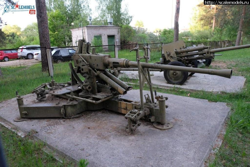 Walkaround 40-мм зенитная автоматическая пушка Bofors L/60, Музей Калининского фронта, Эммаус Россия Закрыть окно
