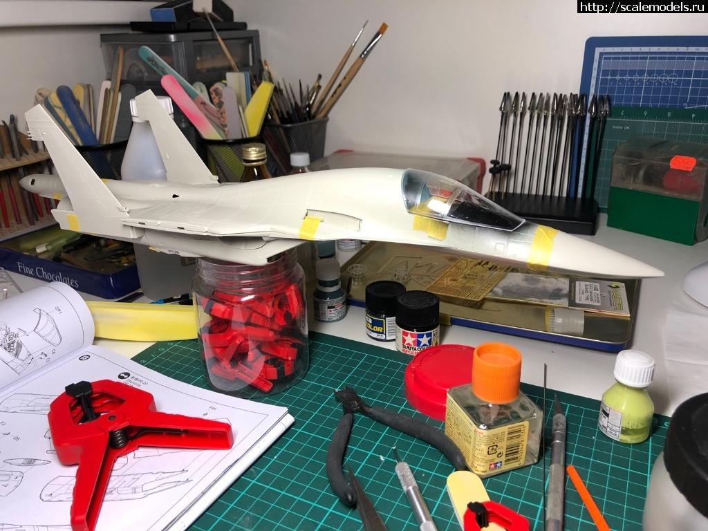 #1558755/ Су-34 1/48 Kitty Hawk ГОТОВО Закрыть окно