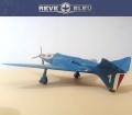 Самодел 1/72 Bugatti 100P Racer Reve Bleu (обр. 1939)