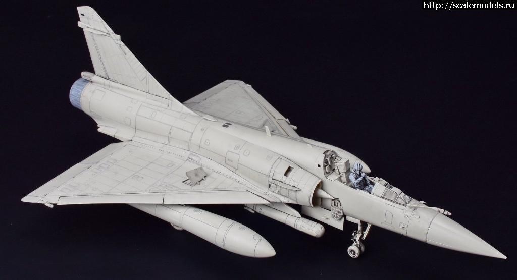 Анонс KittyHawk 1/32 Mirage 2000C - тестовая сборка Закрыть окно