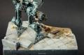 Робот на развалинах
