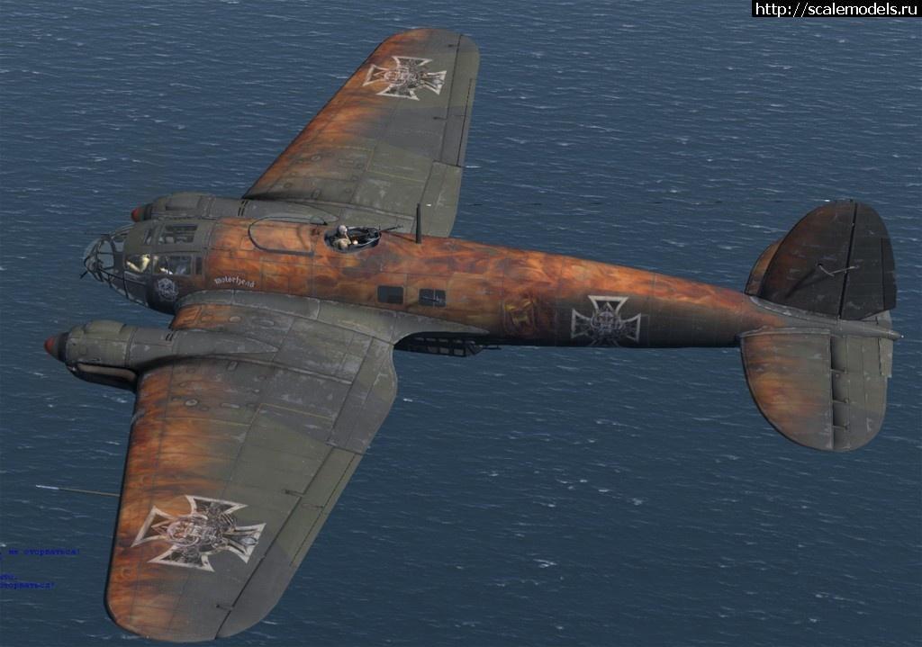 #1570913/ Анонс Airfix 1/72 He-111 Motorhead B...(#14233) - обсуждение Закрыть окно