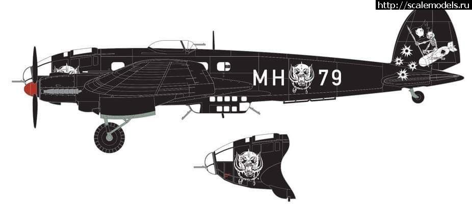#1570951/ Анонс Airfix 1/72 He-111 Motorhead B...(#14233) - обсуждение Закрыть окно