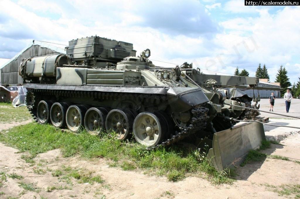 Walkaround БРЭМ-1, Центральный музей бронетанкового вооружения и техники МО РФ, Кубинка, Россия Закрыть окно