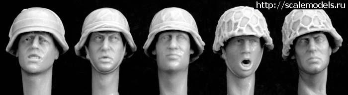 Распродажа голов и рук от  HORNET (немцы, русские) 1/35. Закрыть окно