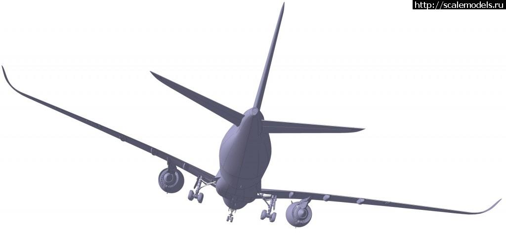 Анонс Звезда 1/144 Airbus A350-1000 - 3D-рендеры Закрыть окно