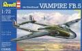 1/72 DH.100 Бакинский Vampire