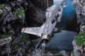 F-16 между скал