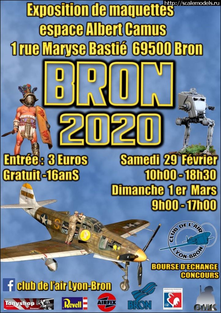 8-я Ежегодная выставка моделизма Брон-2020 (Лион, Франция) Закрыть окно