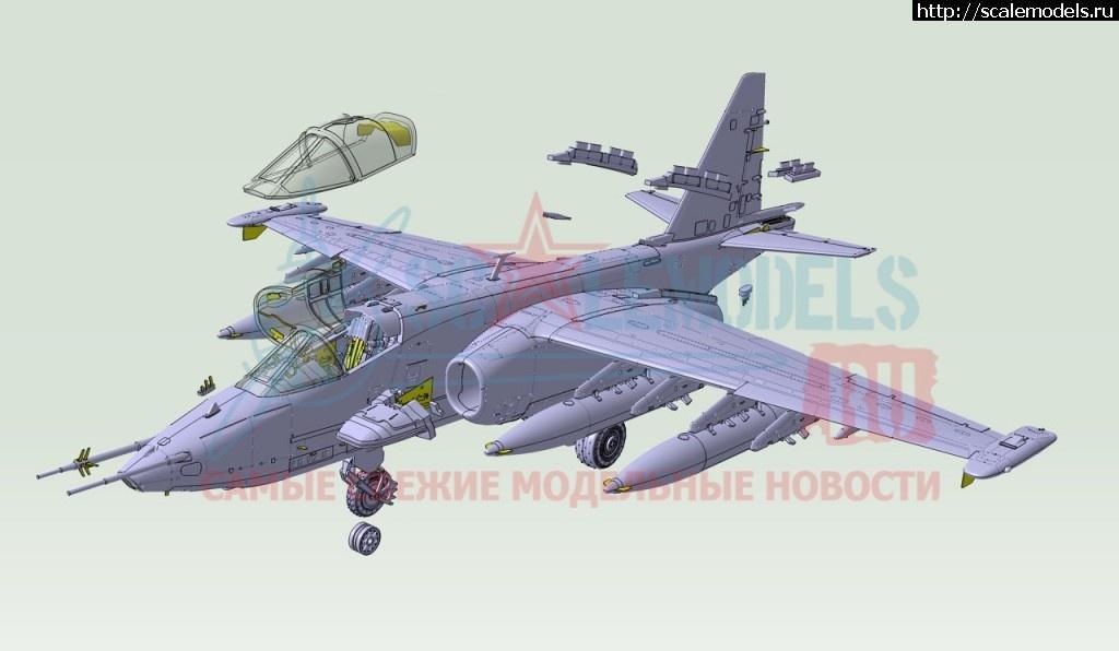 Анонс ClearProp 1/72 Су-25 - 3D-рендеры Закрыть окно