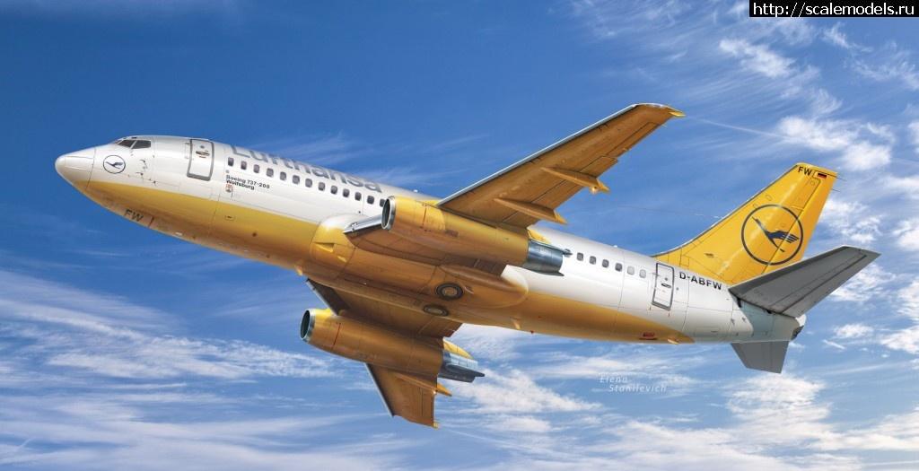 Обзор BPK/Big Planes Kits 1/72 Boeing-737-200/ 737-200 1:72 Закрыть окно