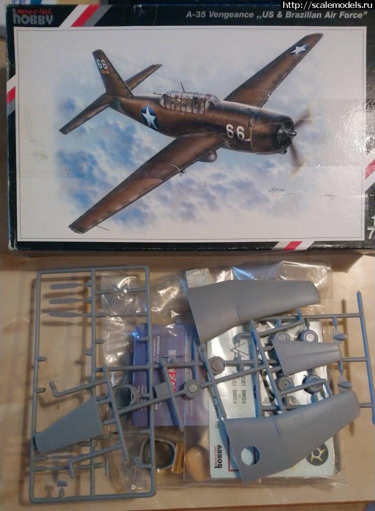 A-35 Vengeance Special Hobby  1/72 ГОТОВО Закрыть окно