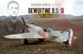 Hasegawa 1/72 Dewoitine D.520