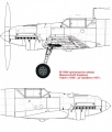 Схема Bf 109A - лючки и клёпка