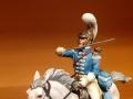 Koof 54mm Трубач Французских карабинеров в бою 1812 г.