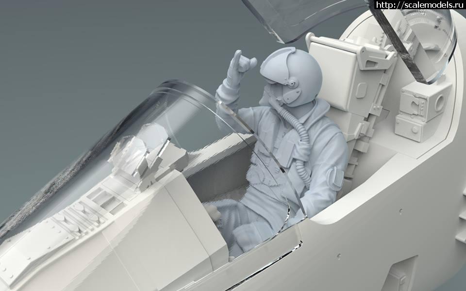 Анонс Kitty Hawk 1/32 Mirage 2000C - литники Закрыть окно