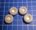 Конверсия Alex Miniatures 1/72 УАЗ буханка на шинах нд