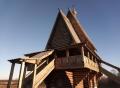 Самодел 1/35 Церковь Косьмы и Дамиана на погосте в Леждоме