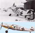 Звезда 1/72 Messerschmitt Bf.109 F-2 (обр. 1941)