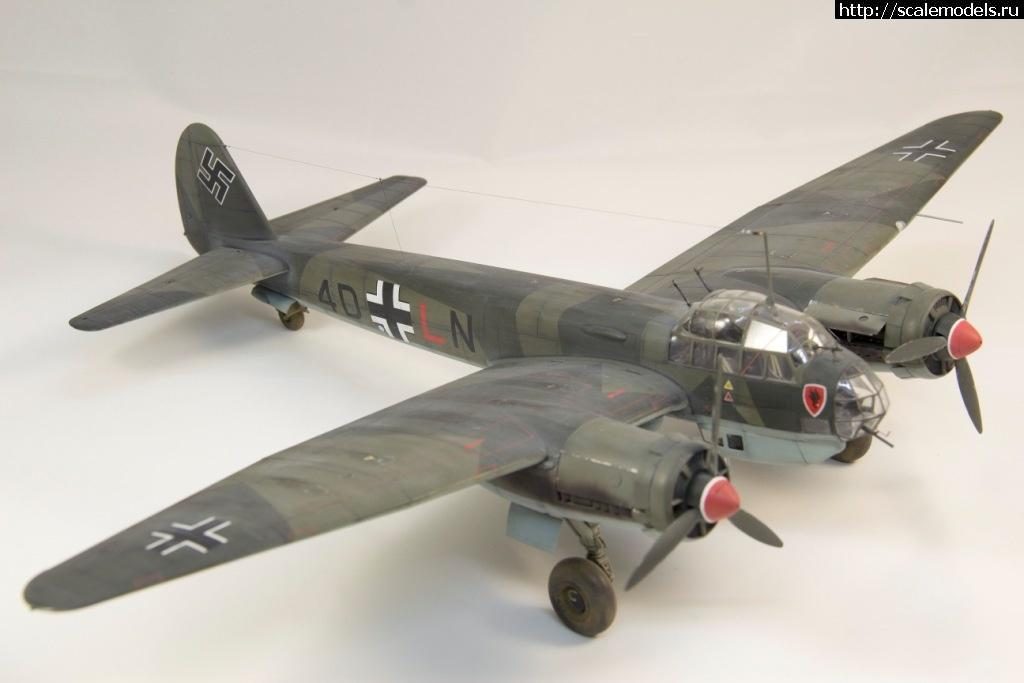 #1594001/ Ju-88A-5 в 1\48 от ICM-Готово. Закрыть окно