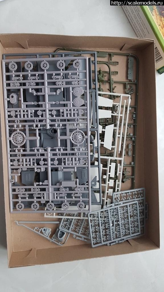 #1594167/ Kleiner Panzerbefehlswagen 1KLA 1/35 Master Box Закрыть окно