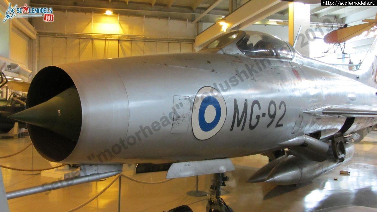 Walkaround МиГ-21Ф-13 MG-92, Central Finland Aviation Museum, Tikkakoski, Finland Закрыть окно