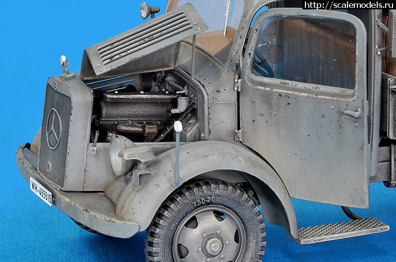 http://scalemodels.ru/modules/forum/viewtopic.php?t=80690&am/ Mercedes-Benz L 1500 A  ---1/35 MiniArt--- (Постройка) Закрыть окно