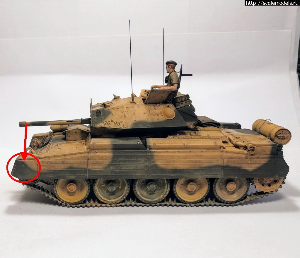 Re: Tamiya/Italeri 1/35 Cruiser Tank Mark VI Crusader Mk.III/ Tamiya/Italeri 1/35 Cruiser Tank Mar...(#13879) - обсуждение Закрыть окно