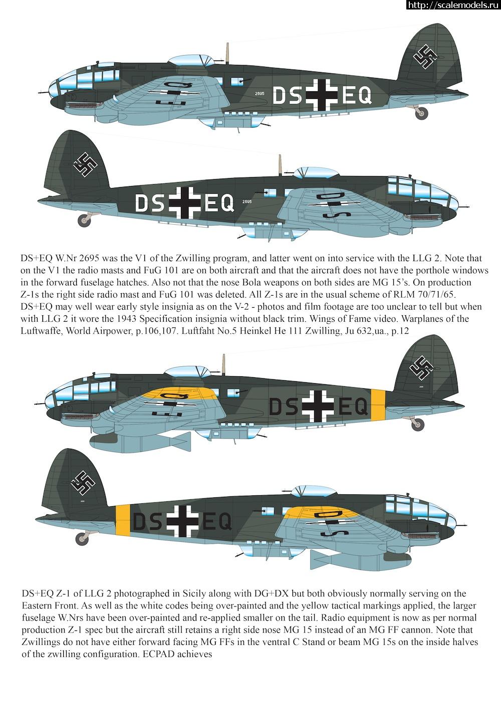 Анонс AIMS-models 1/48 He 111 Z ZWILLING Закрыть окно