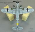 FineMolds 1/72 BF-109 K4 - Черный тюльпан Хартманна 1945