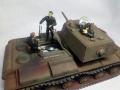 Звезда 1/35 КВ-1 с пушкой Л-11