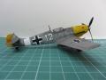 Tamiya 1/72 Bf.109E-7 Белая 12 Мюнхеберга