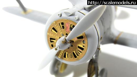 Микродизайн 1/72 Фототравление для И-153 Закрыть окно