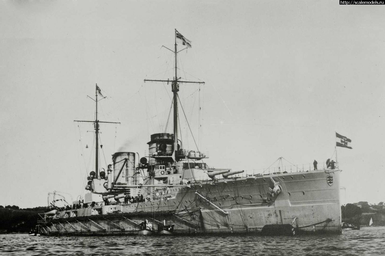 #1608597/ Германский линейный крейсер Seydlitz + травло Infini-model Закрыть окно