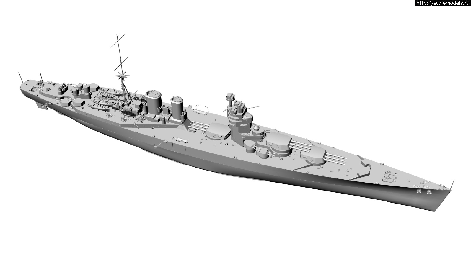 Анонс Комбриг 1/700 британский линейный крейсер типа G3 Закрыть окно