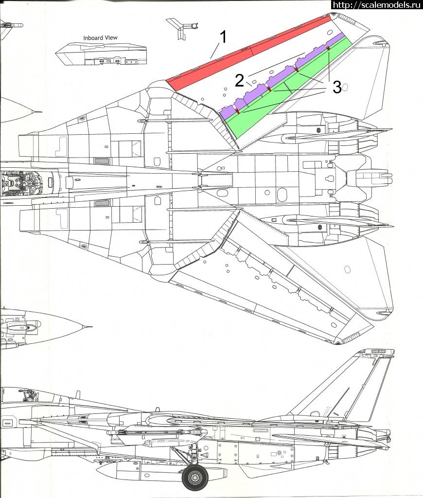 #1610715/ Revell 1/144 F-14A Tomcat(#14040) - обсуждение Закрыть окно